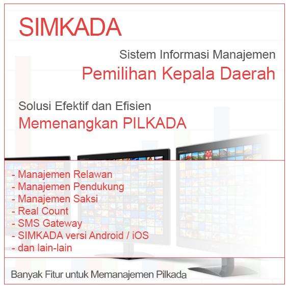SIMKADA - Sistem Informasi Manajemen Pilkada